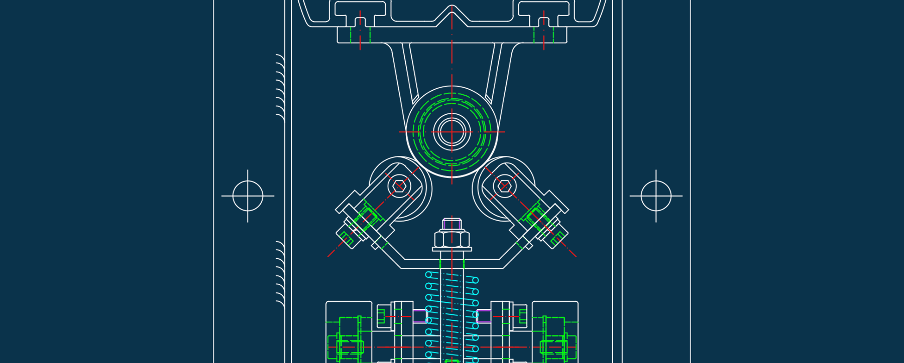 Overhead Conveyor System schematics